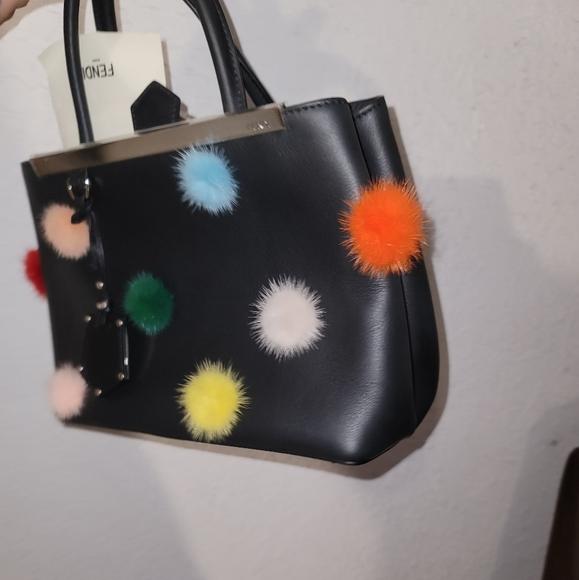 Fendi Handbags - New Fendi 2Jours Petite Mink Bag